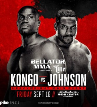 Результаты Bellator 161: Kongo vs. Johnson