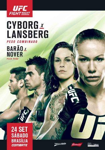 Результаты и бонусы UFC Fight Night: Cyborg vs. Lansberg