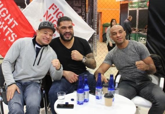 Глейсон Тибау, Антонио Силва и Роан Карнейро