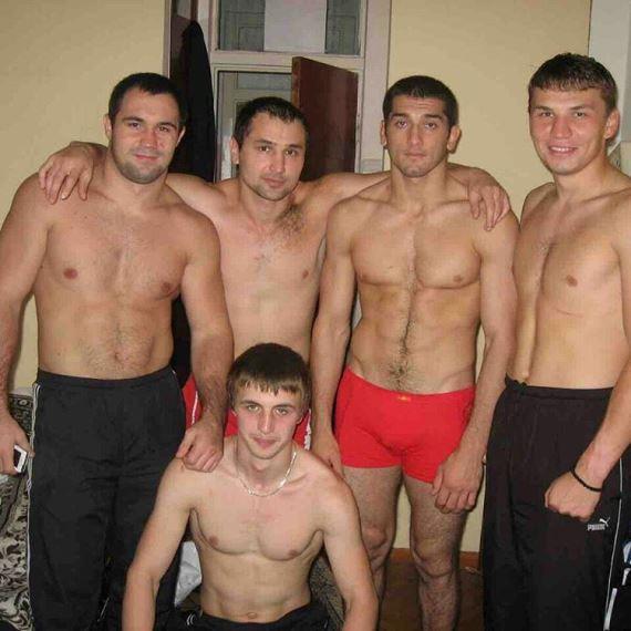 Константин Ерохин и Адлан Амагов
