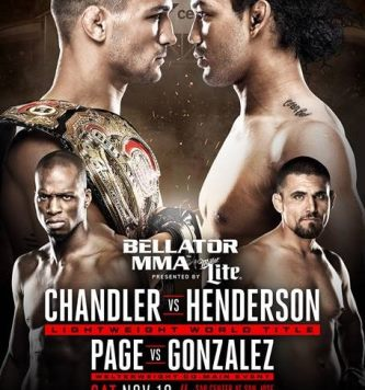 Результаты Bellator 165: Chandler vs. Henderson