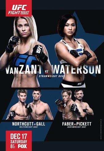 Результаты и бонусы UFC on Fox: VanZant vs. Waterson