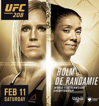Результаты и бонусы UFC 208: Holm vs. de Randamie