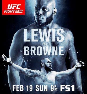 Результаты и бонусы UFC Fight Night: Lewis vs. Browne