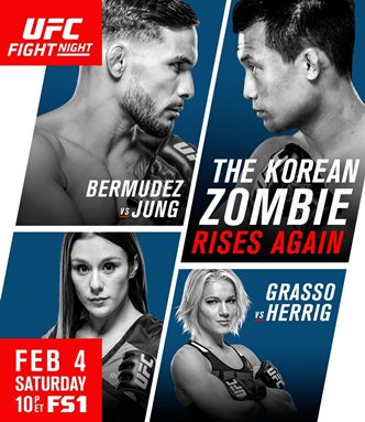 Результаты и бонусы UFC Fight Night: Bermudez vs. Korean Zombie