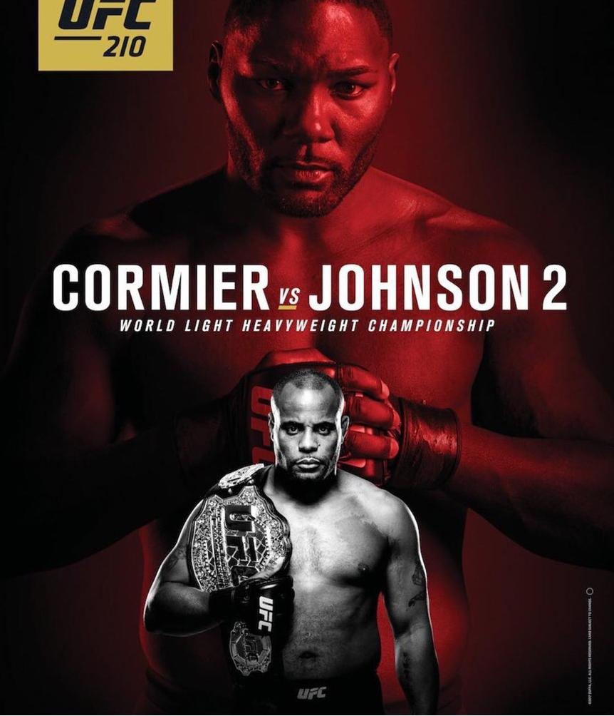 Даниэль Кормье Энтони Джонсон UFC 210