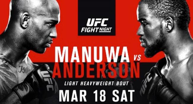 Результаты и бонусы UFC Fight Night: Manuwa vs. Anderson