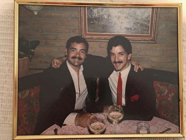 Брюс Баффер с братом