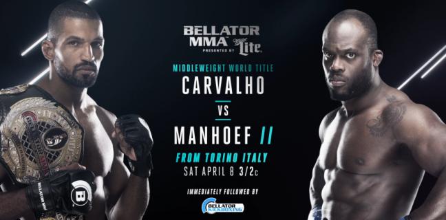 Результаты Bellator 176: Carvalho vs. Manhoef