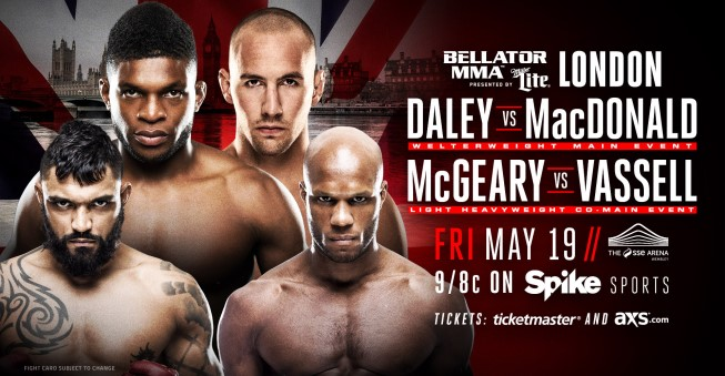 Результаты Bellator 179: Daley vs. MacDonald
