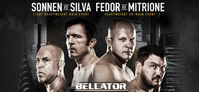 Результаты Bellator NYC: Sonnen vs. Silva