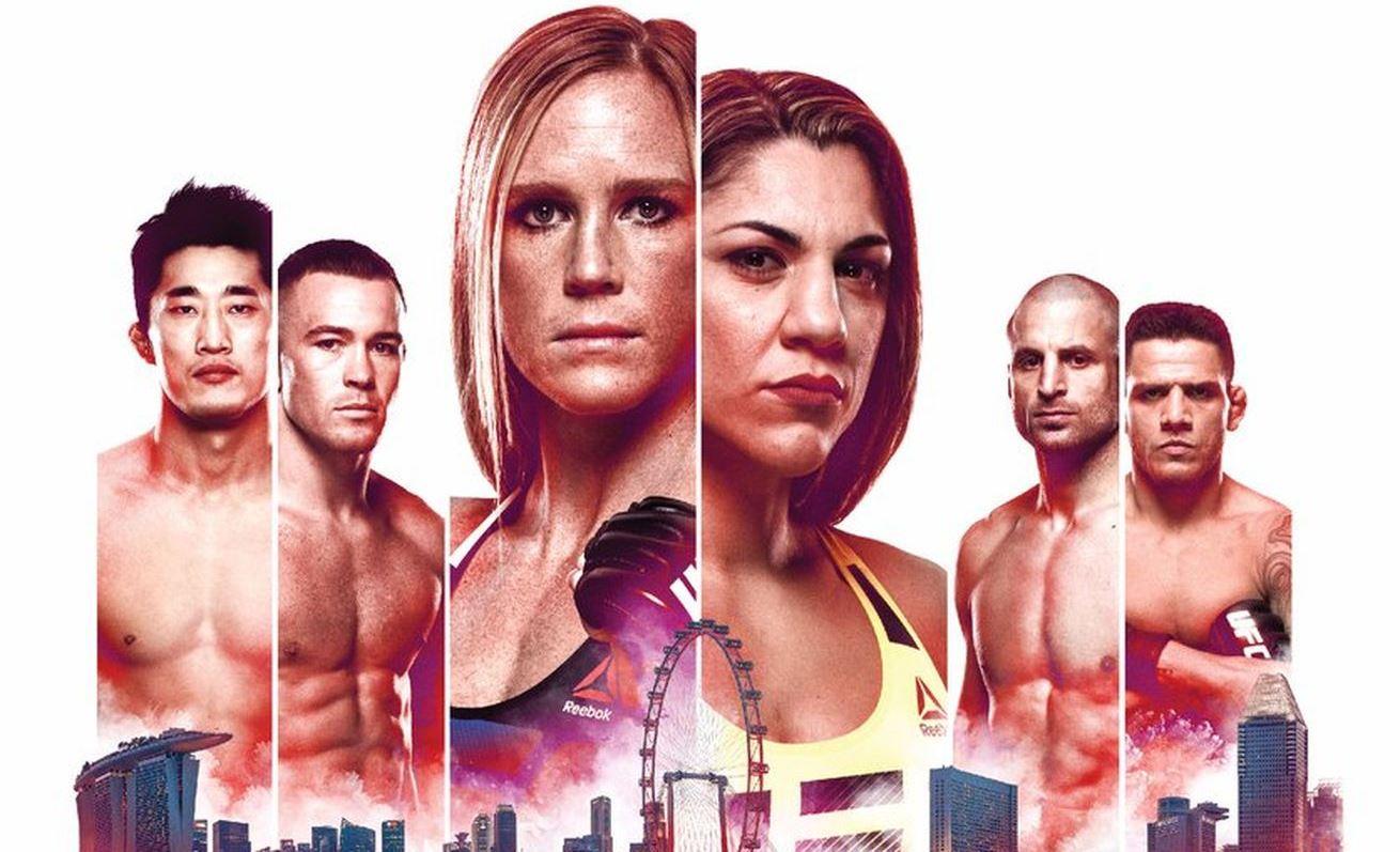 Результаты и бонусы UFC Fight Night: Holm vs. Correia