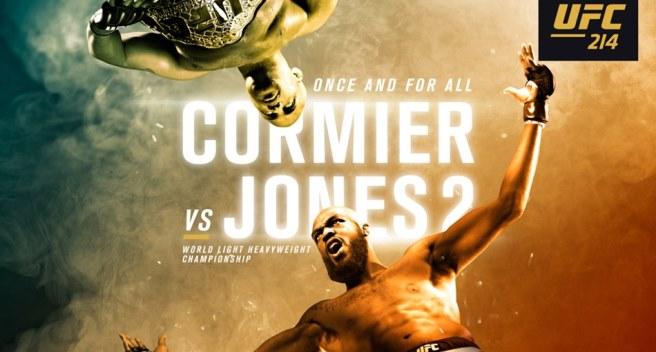 Результаты и бонусы UFC 214: Cormier vs. Jones 2
