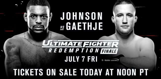 Результаты и бонусы The Ultimate Fighter: Redemption Finale