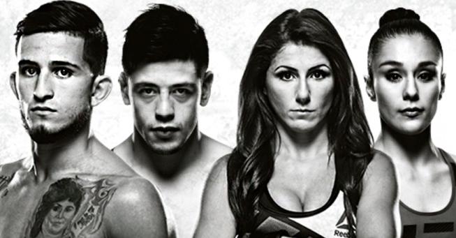 Результаты и бонусы UFC Fight Night: Pettis vs. Moreno
