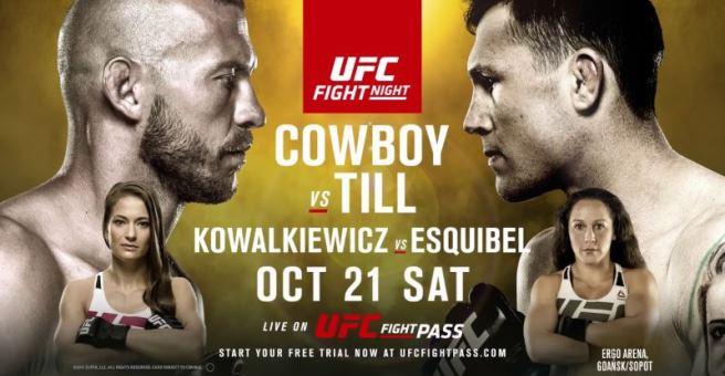 Результаты и бонусы UFC Fight Night: Cerrone vs. Till
