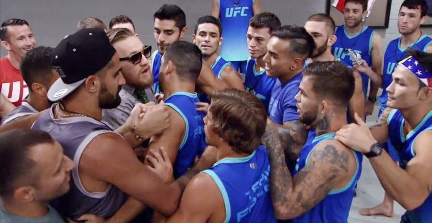 The Ultimate Fighter: Team McGregor vs. Team Faber