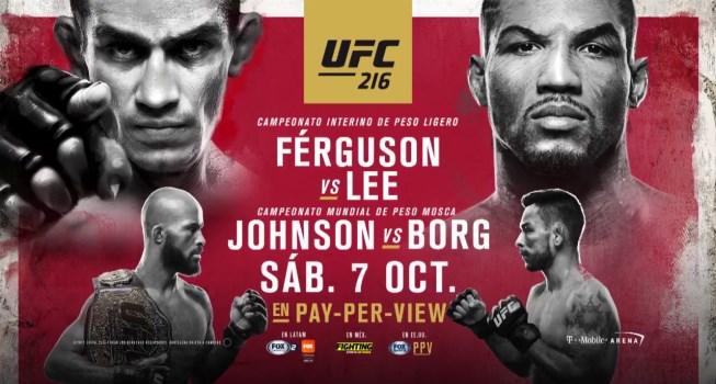 Результаты и бонусы UFC 216: Ferguson vs. Lee