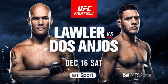 Результаты и бонусы UFC on Fox: Lawler vs. dos Anjos