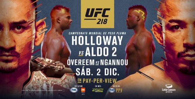Результаты и бонусы UFC 218: Holloway vs. Aldo 2