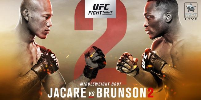 Результаты и бонусы UFC on Fox: Jacare vs. Brunson 2