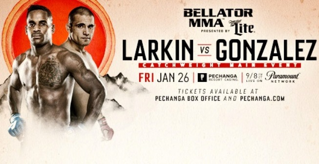 Результаты Bellator 193: Larkin vs. Gonzalez