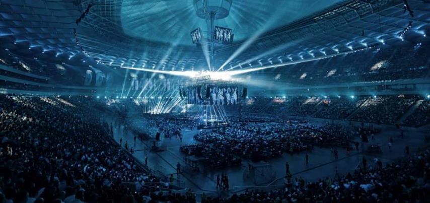 Полный стадион на KSW 39: Colosseum