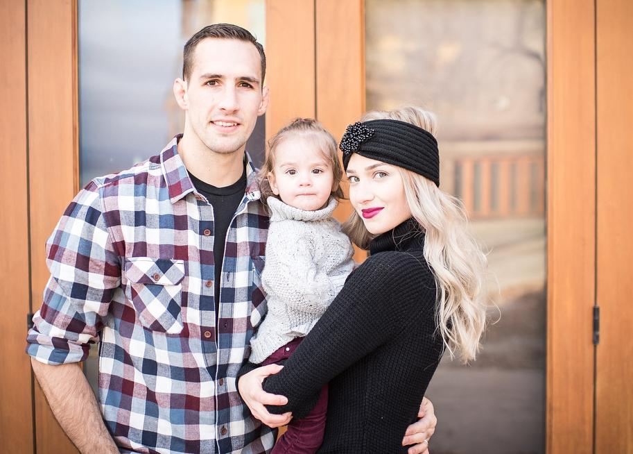 Рори Макдональд с семьей