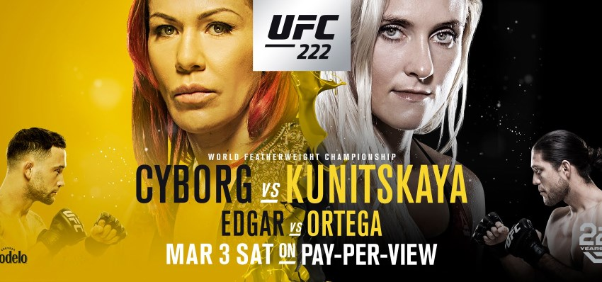 Результаты и бонусы UFC 222: Cyborg vs. Kunitskaya
