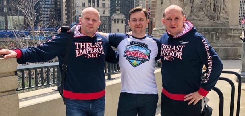 Федор Емельяненко и его команда в Чикаго