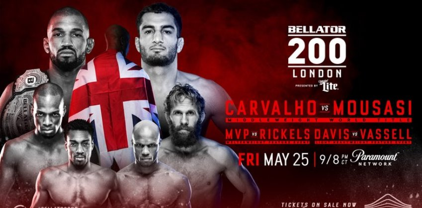 Результаты Bellator 200: Carvalho vs. Mousasi
