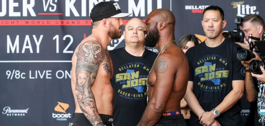 Результаты Bellator 199: Bader vs. King Mo