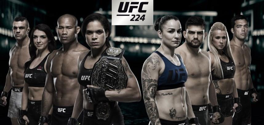 Результаты и бонусы UFC 224: Nunes vs. Pennington