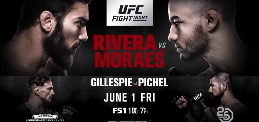 Результаты и бонусы UFC Fight Night: Rivera vs. Moraes