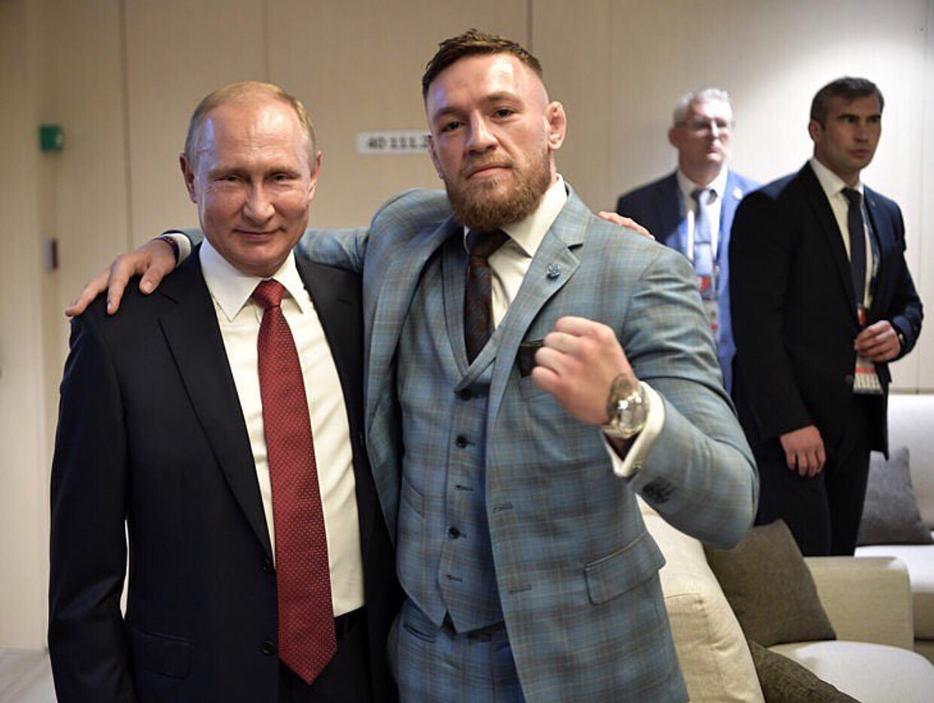 Владимир Путин, Конор Макгрегор