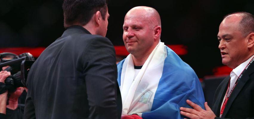 Чел Соннен - Федор Емельяненко