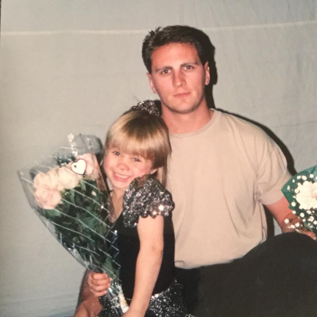 Пейдж Ванзант с отцом