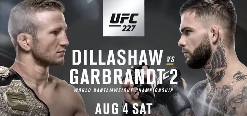 Результаты и бонусы UFC 227: Dillashaw vs. Garbrandt 2