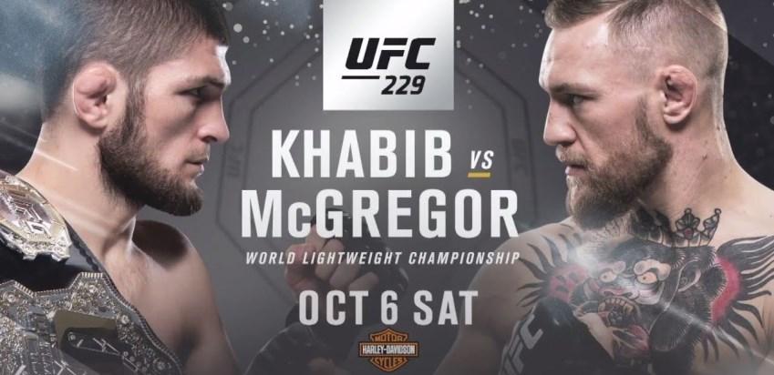 Результаты и бонусы UFC 229: Khabib vs. McGregor