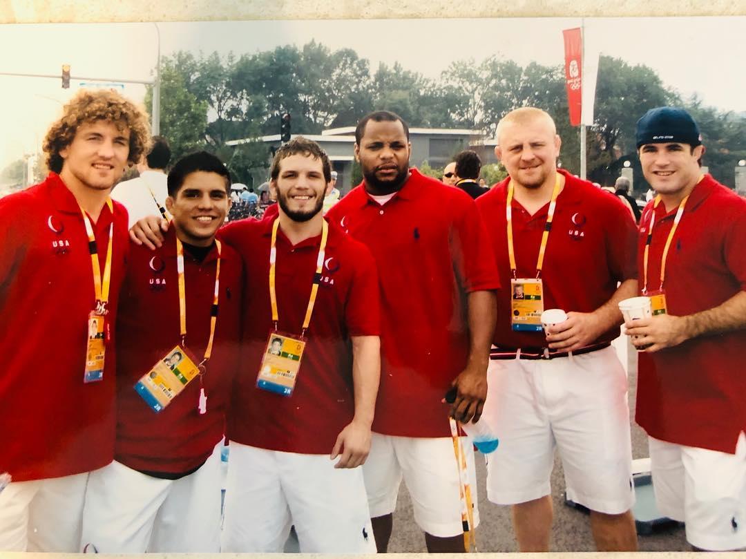 Олимпийская сборная по борьбе 2008